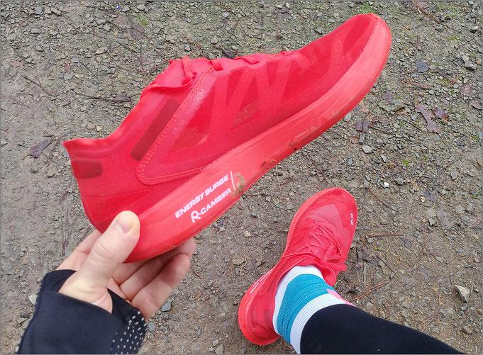 Durch und durch Racing-Schuh?