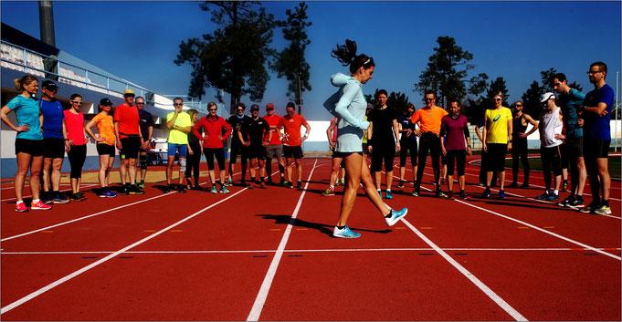 Der Marathonlauf ist hart und ehrlich, sagt sie! Bildquelle: Chris Drüke