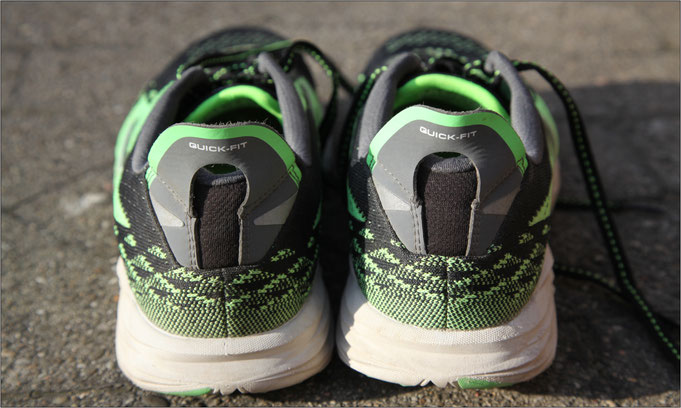 Ob kurz oder lang, mit diesem Schuh machen alle Distanzen richtig Spaß.