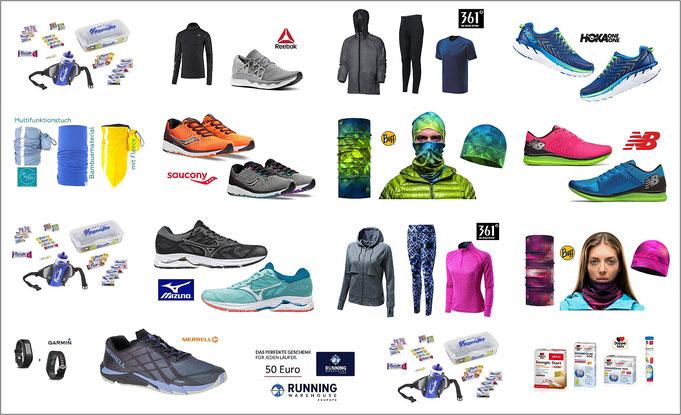 Der große Gewinnspiel-Marathon umfasst diese Preise.