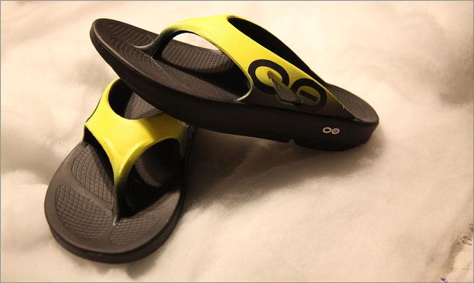 Die 'Recovery Footwear' von OOFOS hat überzeugt!