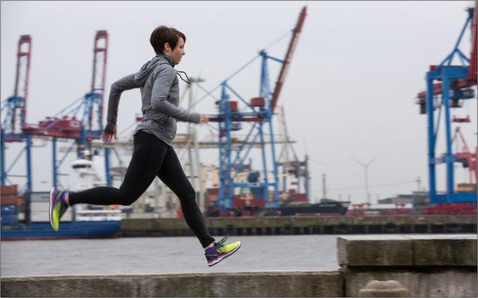 In Hamburg gibt es viele verschiedene Ecken zum Laufen. Bildquelle: Bianca/Jean-Baptiste Hoeppner/361°
