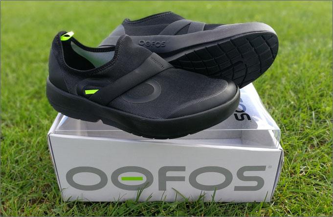 OOFOS unterstützt die Regeneration.