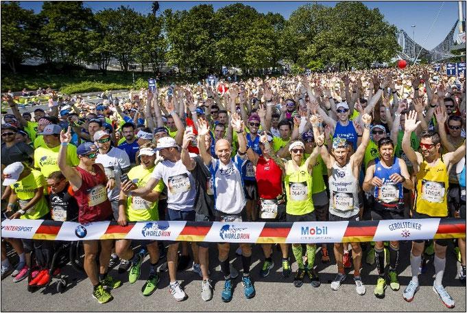 Die Stimmung beim World Run ist immer grandios! Bildquelle: Red Bull