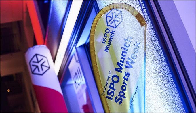 Auf der Sportmesse ISPO geht es rund! Bildquelle (Copyright): Messe München