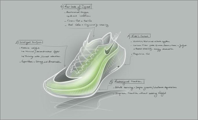 Nike ZoomX Vaporfly NEXT% und seine Faktoren - Bildquelle: Nike