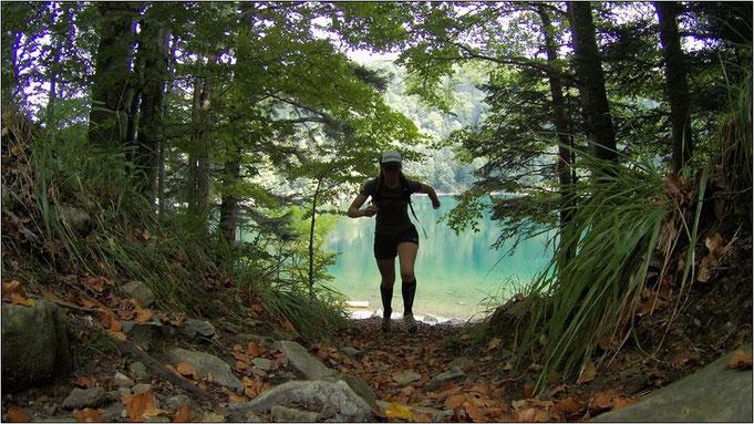 Lac du Ballon. Ein wunderschöner See, an dem man die Seele baumeln lassen kann.