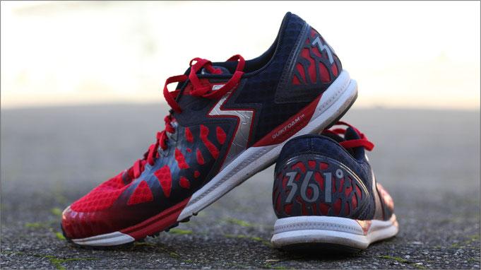 Ein Schuh mit hohem Wettkampfcharakter.