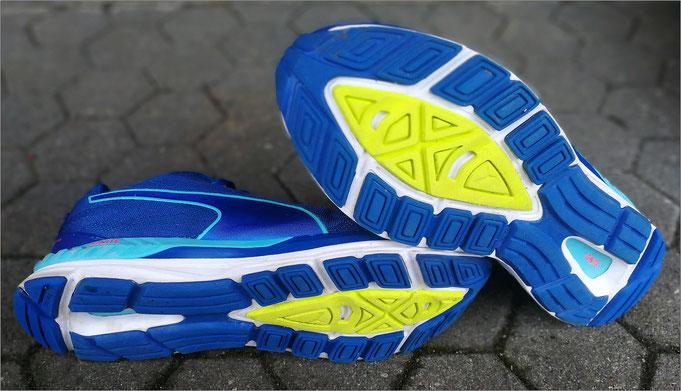 Kurzzeitiges Laufen auf unbefestigten Wegen ist möglich.