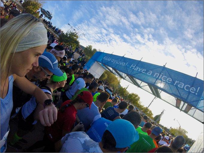Der Athen Marathon. Für sie ein ganz besonderes Erlebnis. Bildquelle: Natascha