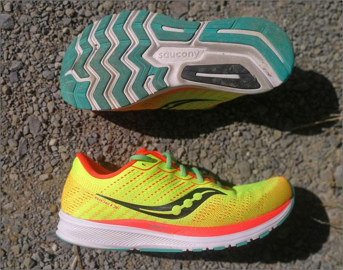 Ein Schuh auch für längere Strecken!