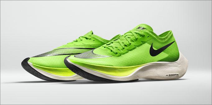 Der Nike ZoomX Vaporfly NEXT% sieht eindrucksvoll aus - Bildquelle: Nike