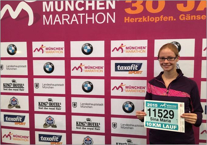 Letztes Jahr 10 KM, dieses Jahr wird es der Halbmarathon in München.