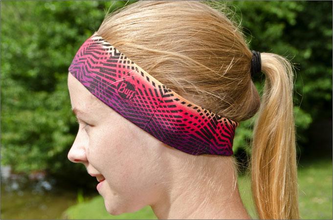 Ideal für den Sommer - das 'UV Slim'-Stirnband.