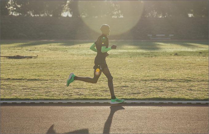 Mo Farah unterwegs mit dem Nike ZoomX Vaporfly NEXT% - Bildquelle: Nike