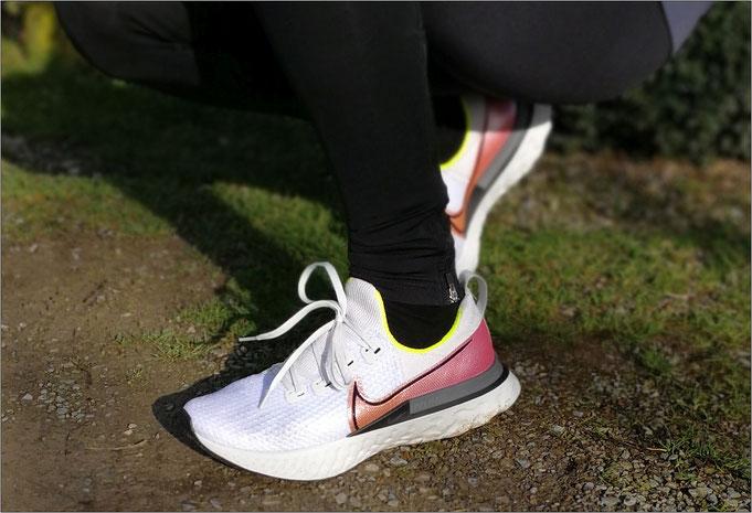 Der Schuh sitzt klasse am Fuß - der Wohlfühlcharakter begeistert.