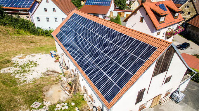 Sonnenpower Photovoltaik Solaranlagen in Velburg Lupburg Parsberg Hohenfels Beratzhausen Laaber Schmidmuehlen
