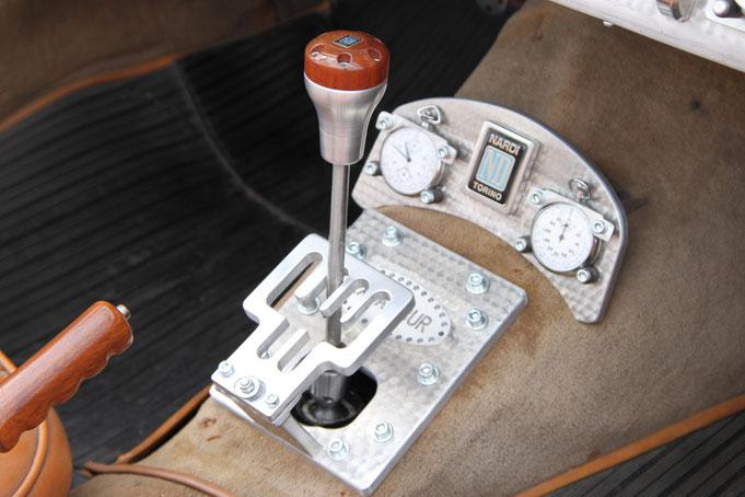 levier vitesse grille selection prototype ferrari h deboitement rallye