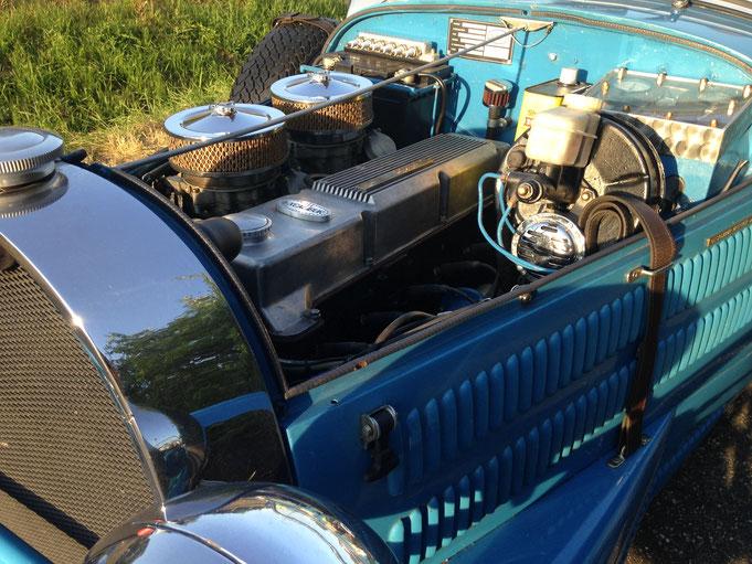 Excalibur 35X moteur 6 cylindres aluminium opel commodore GS