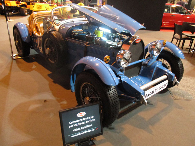 Salon Auto Moto Classic Strasbourg voiture collection Bugatti Excalibur 35X