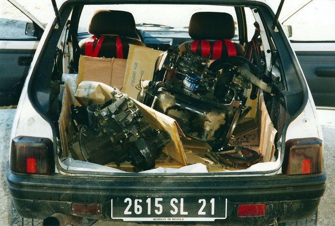 moteur peugeot 205 xud7