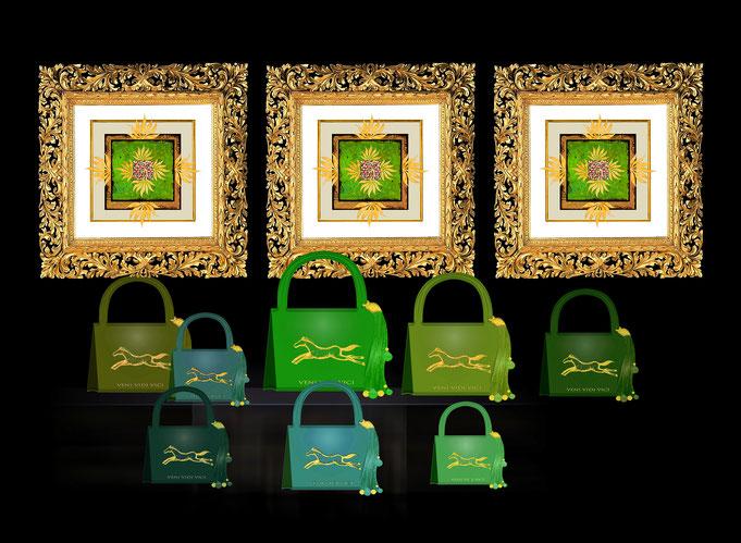 Roland Carlos, Handbags and Fine Art Prints 2022