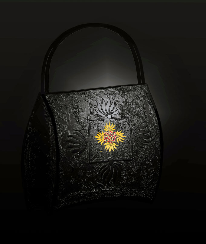 "Handbag "" Magic Scarf "" Serie by Roland Carlos"