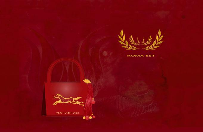 "Roland Carlos, Women handbag "" Roma """