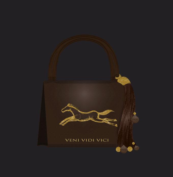 "Roland Carlos, "" Horses "" Women handbag"