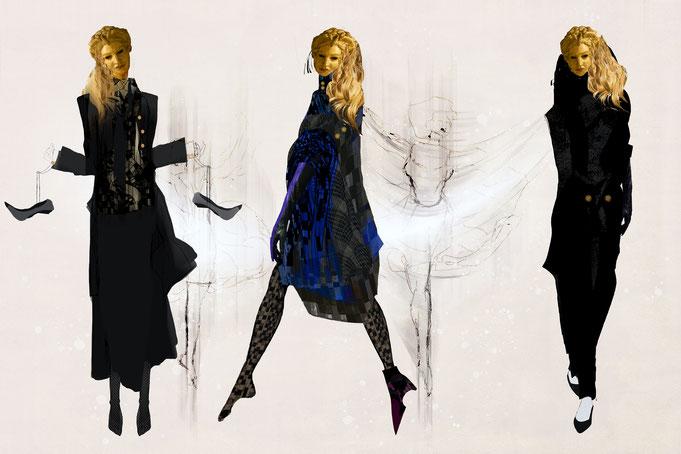 """Roland Carlos, """" Dance """" Fashion 2021"""