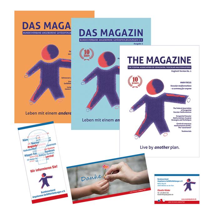 DAS MAGAZIN (jährliche Ausgabe seit 2015, in deutsch und englisch)