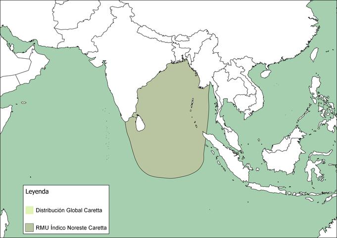 RMU del Índico Noreste