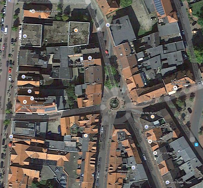 Schnellenmarkt, Uelzen, Quelle: Google Maps