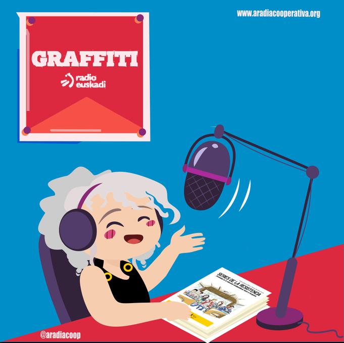 Aradia presenta Series de la resistencia en Graffiti Radio Euskadi