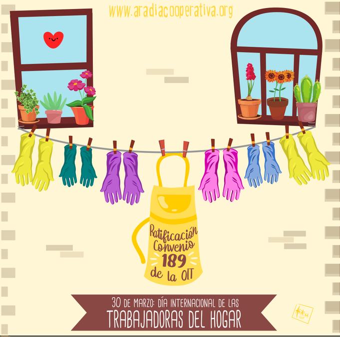 30 de marzo: Día internacional de las trabajadoras del hogar