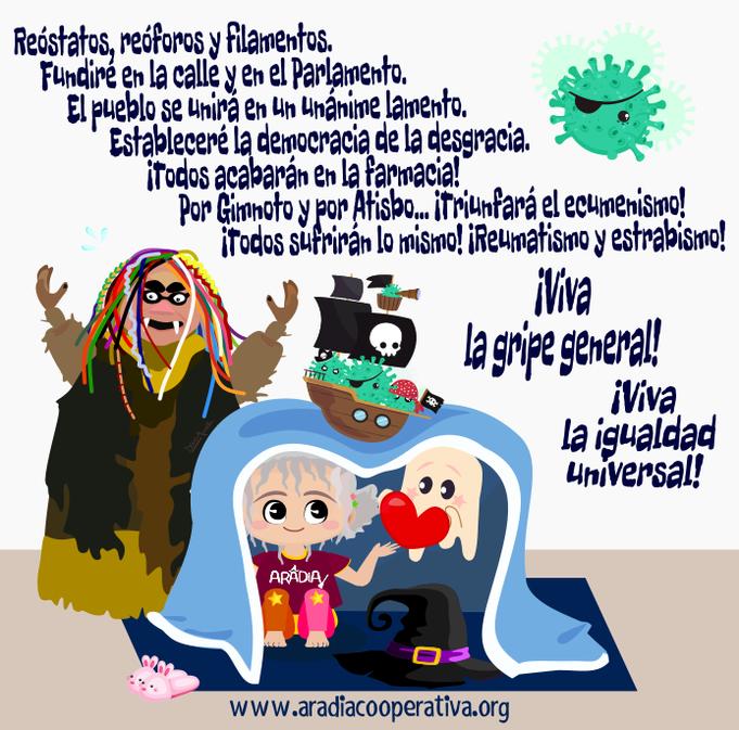 Aradia, coronavirus