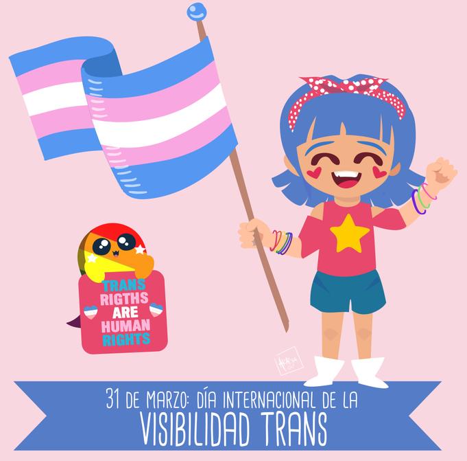 31 de marzo: Día internacional de la visibilidad trans