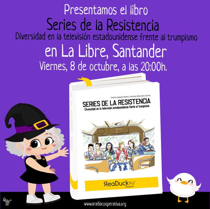 Aradia presenta Series de la resistencia en Santander