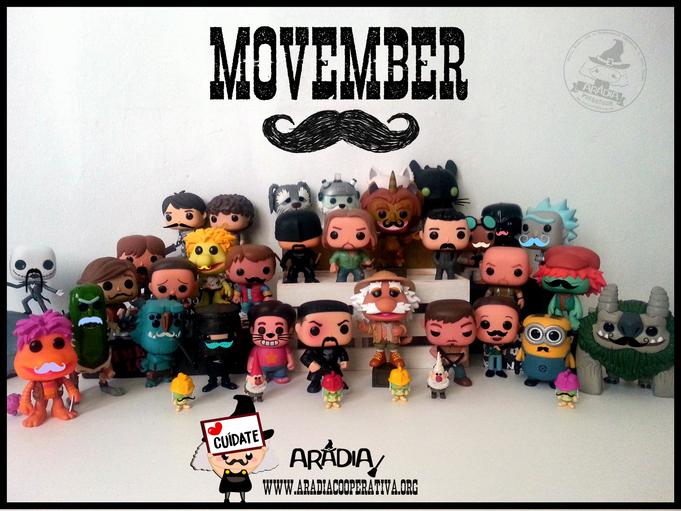 masculinidades, Movember, Aradia Coop., feminismo, Aradia