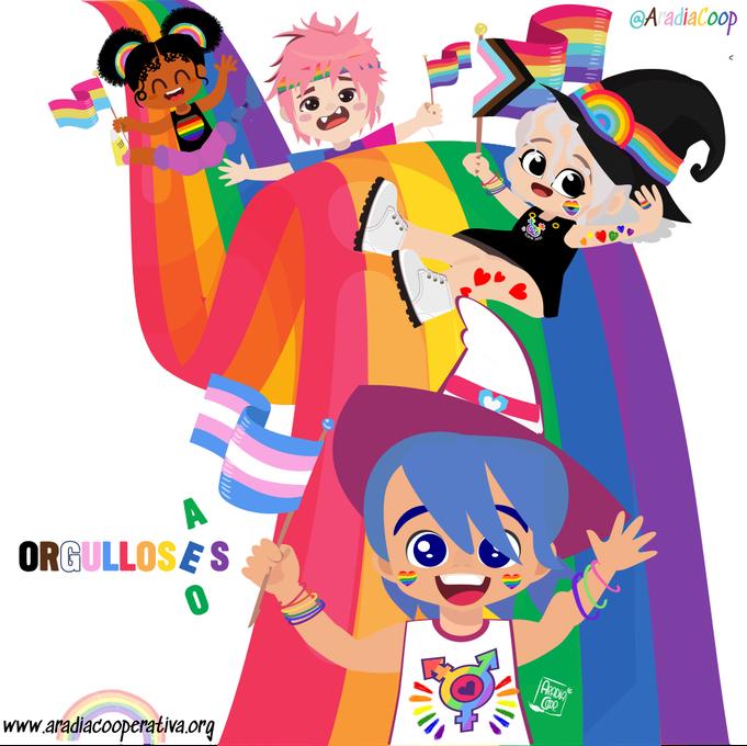 El akelarre celebra el Orgullo LGBTIQ+ 2021