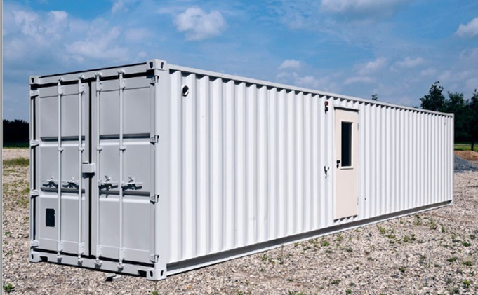 Planta piloto contenerizada para ensayos de producción de biogás