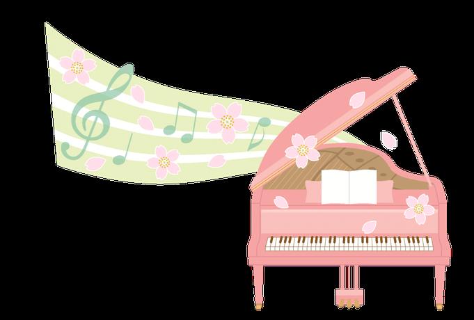 ひたちなか市のピアノ教室:さくらピアノ音楽教室のイメージ