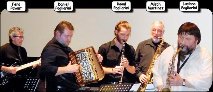Einige Musiker der Brigade d'intervention Musicale BIM, 2013.    /  Quelques musiciens de la BIM,  2013  (Foto: Theophil Schweicher)