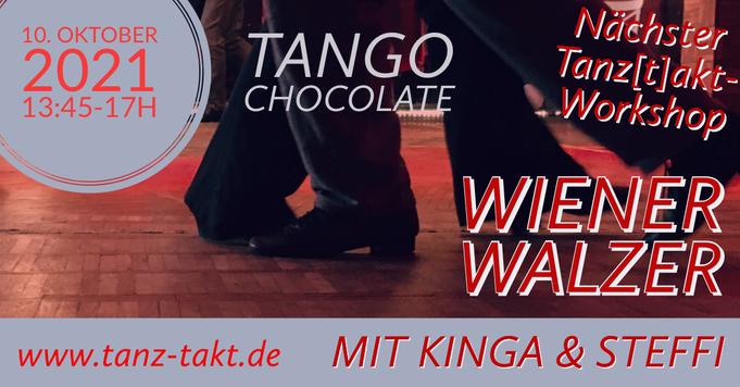 Wiener Walzer Workshop (F) -  14. November'21 TanzTakt - mit DJane Denise Lau