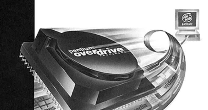 Intel Pentium OverDrive, photo by Intel