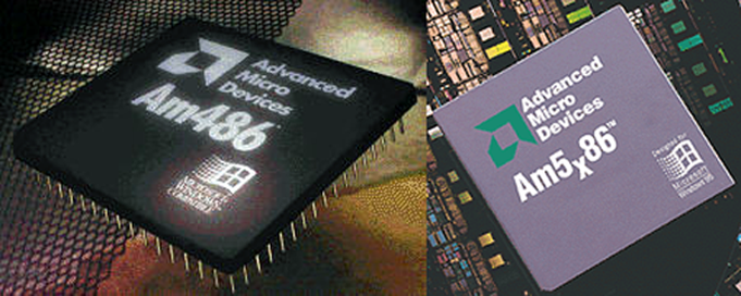 AMD Am486 & Am5x86 © Advanced Micro Devices