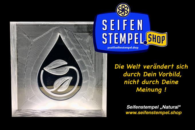 Seifenstempel aus Acrylglas, Seifenstempel.Shop