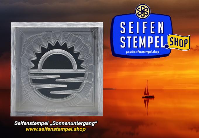 Acrylstempel, Acrylglas Seifenstempel, Seifenstempel-Shop