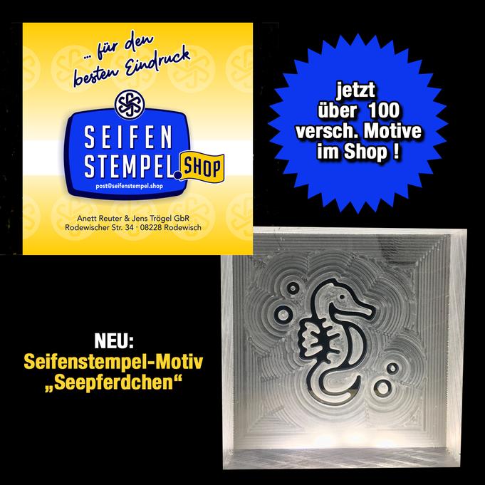 Seifenstempel aus Acrylglas, Seifenstempel Tiermotive, Seifenstempel.Shop