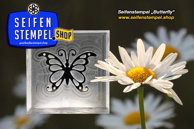 Seifenstempel aus Acrylglas, Acrylglasstempel, Seife personalisieren